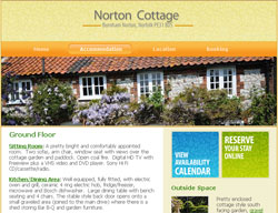 My Norfolk Holiday Cottage website client